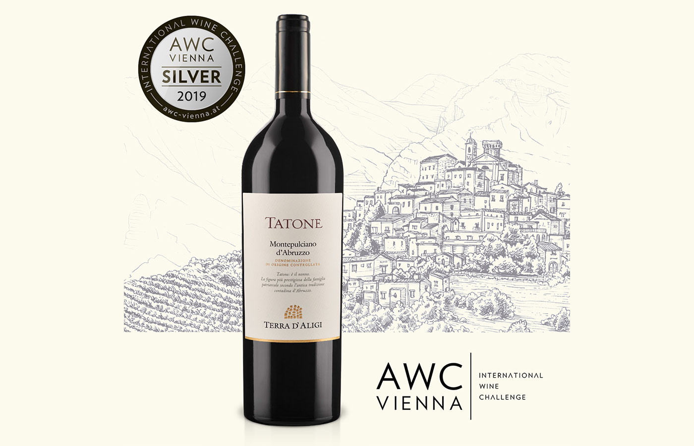 AWC Vienna 2019. Medaglia d'argento per TATONE 2016 Terra d'Aligi!