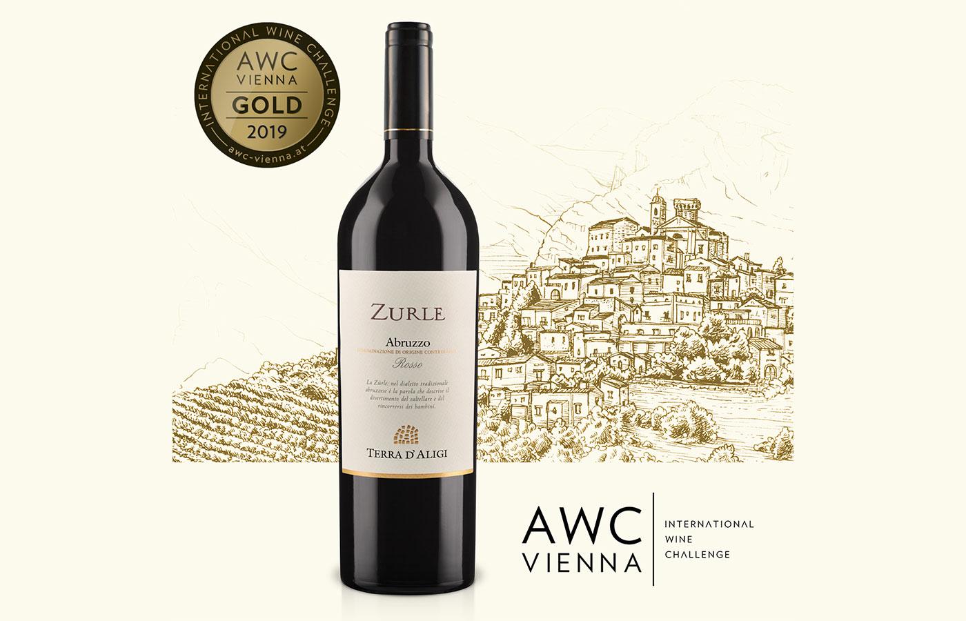 AWC Vienna 2019. Medaglia d'oro per ZURLE 2015 Terra d'Aligi!
